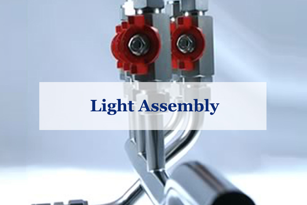 Essex Bay Engineering Light Assembly and Finishing